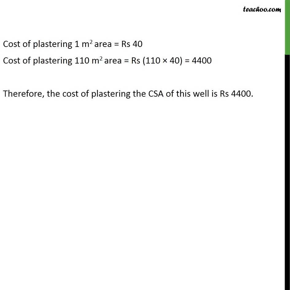Ex 13.2, 7 - Chapter 13 Class 9 Surface Areas and Volumes - Part 2