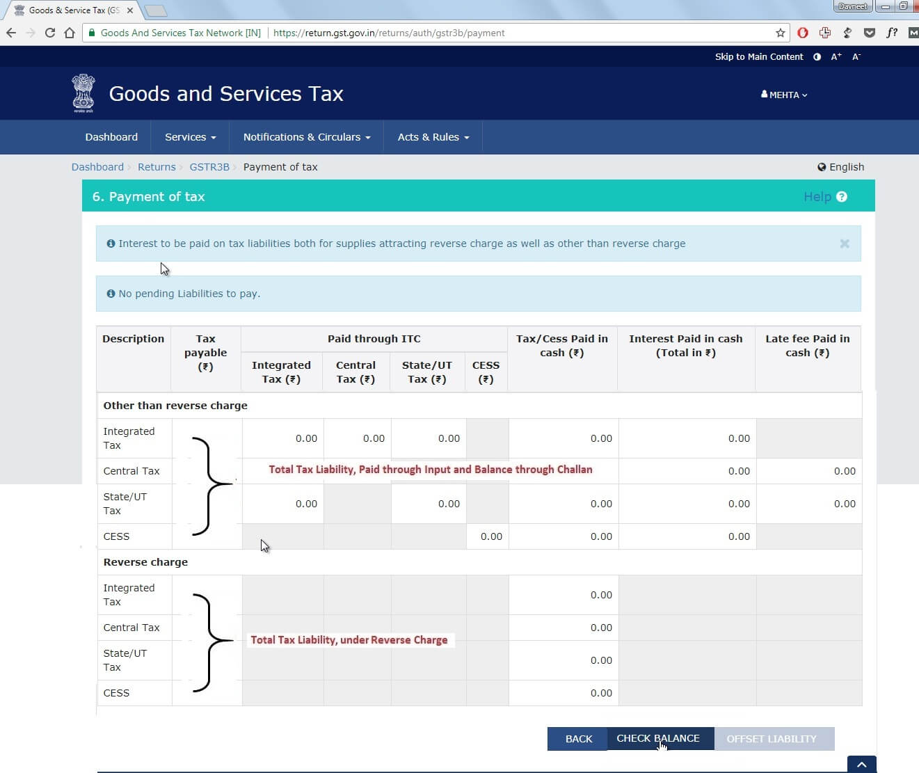 How to file GSTR 3B Return - with Steps and Screenshots - Teachoo