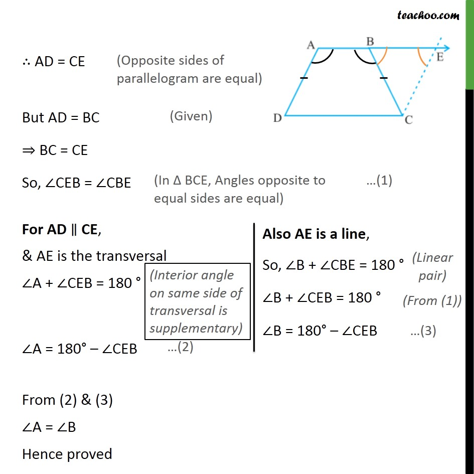 Ex 8.1, 12 - Chapter 8 Class 9 Quadrilaterals - Part 2