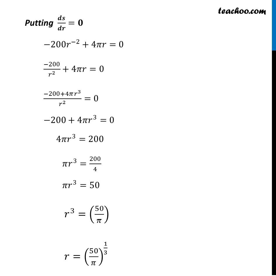 Ex 6.5,21 - Chapter 6 Class 12 Application of Derivatives - Part 4