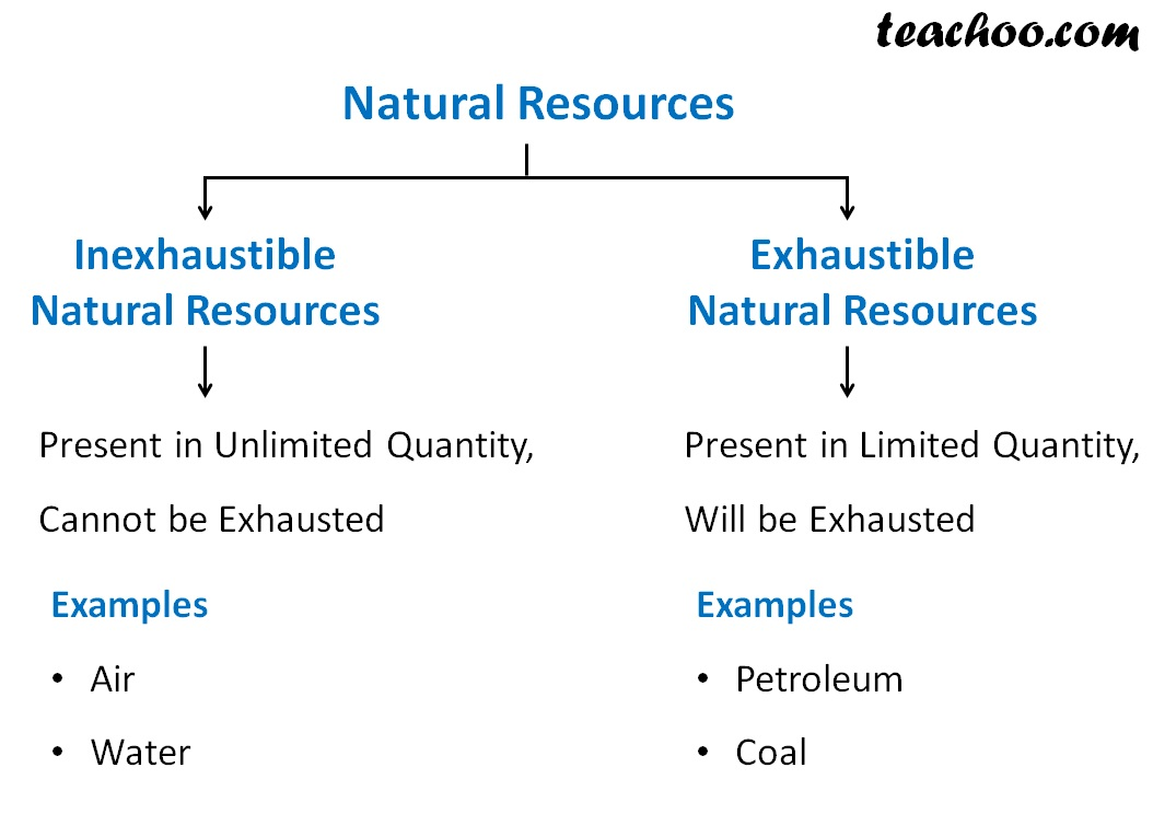 Exhaustible and Inexhaustible Natural Resources - Teachoo.jpg
