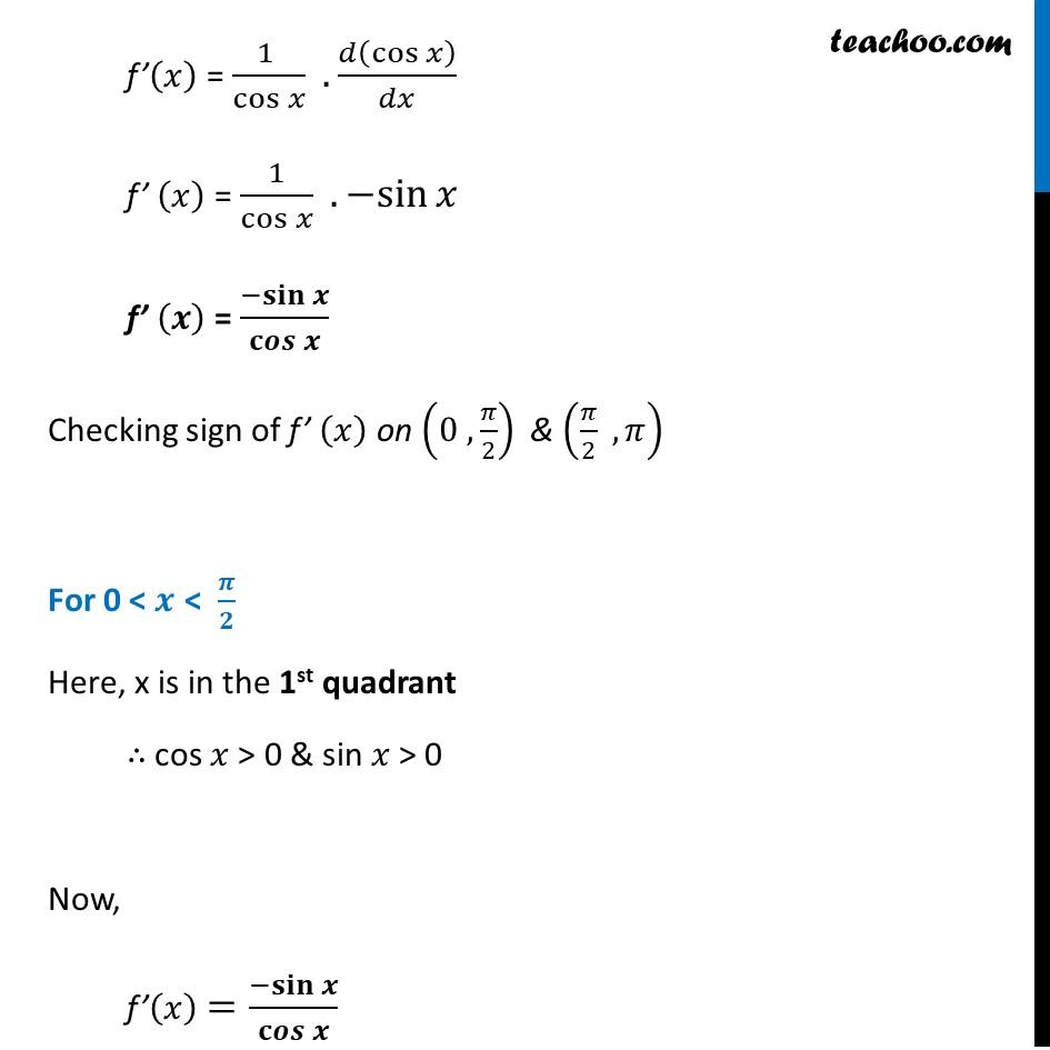 Ex 6.2,17 - Chapter 6 Class 12 Application of Derivatives - Part 2
