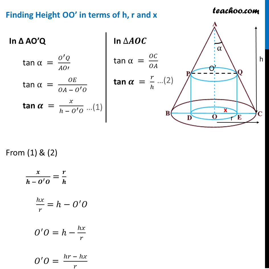 Example 38 - Chapter 6 Class 12 Application of Derivatives - Part 2