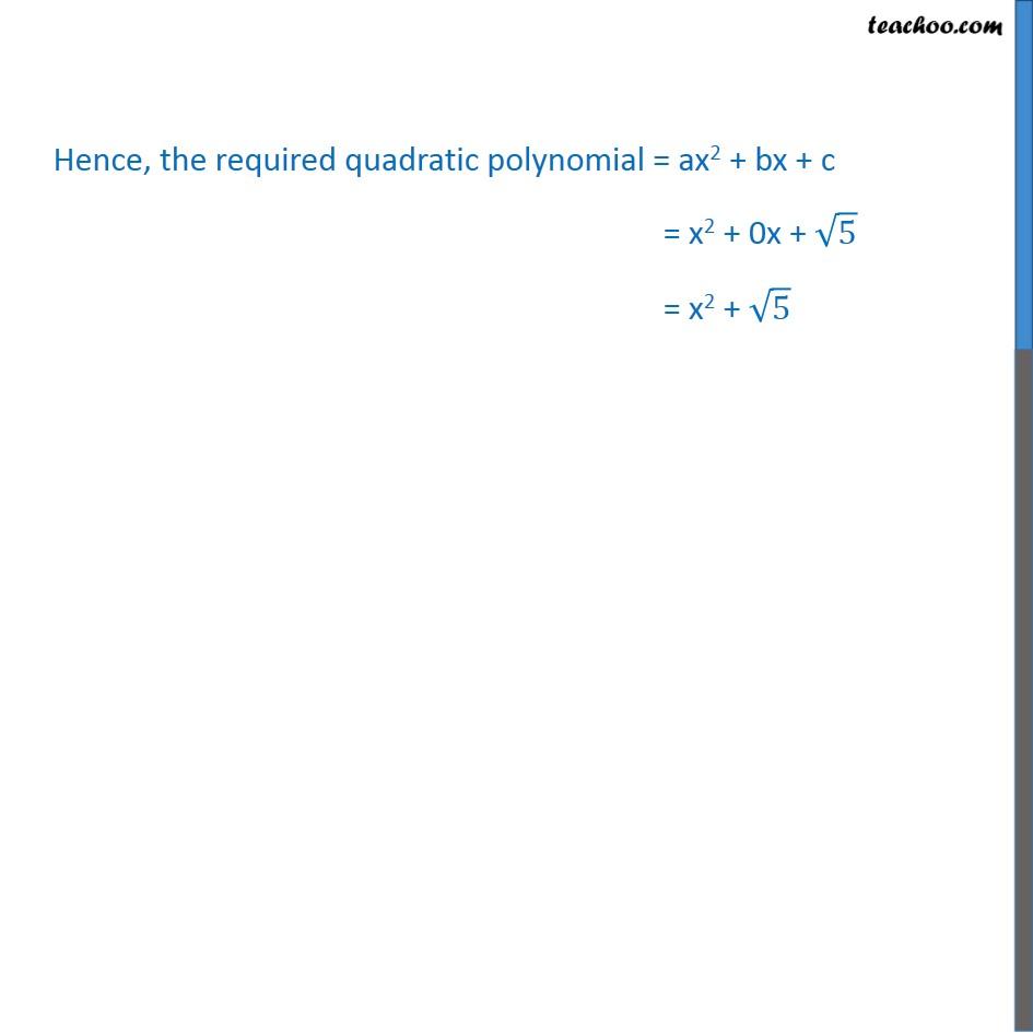 Ex 2.2, 2 - Chapter 2 Class 10 Polynomials - Part 6