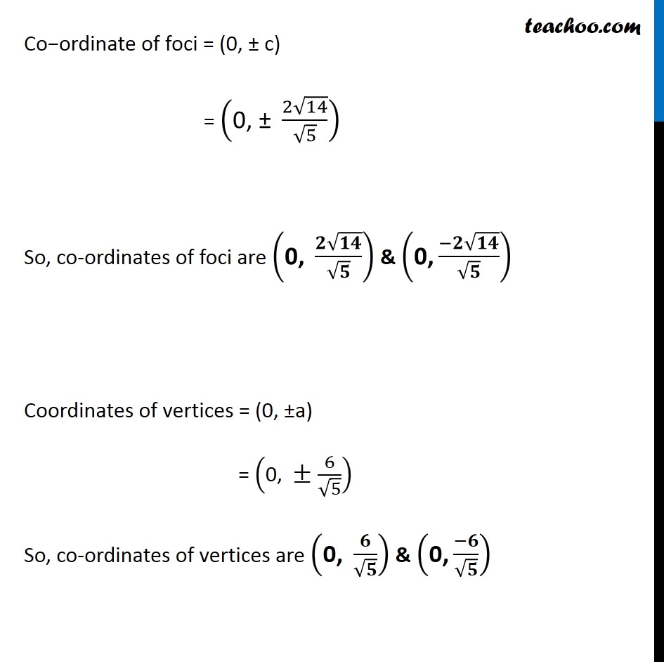 Ex 11.4,  5 - Chapter 11 Class 11 Conic Sections - Part 4