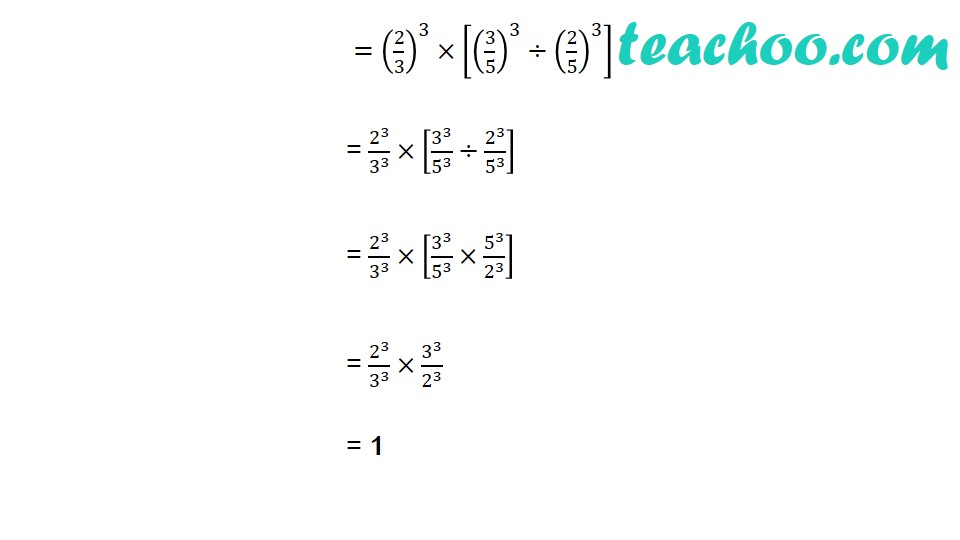 Practice Questions on Laws of Exponents - Part 14