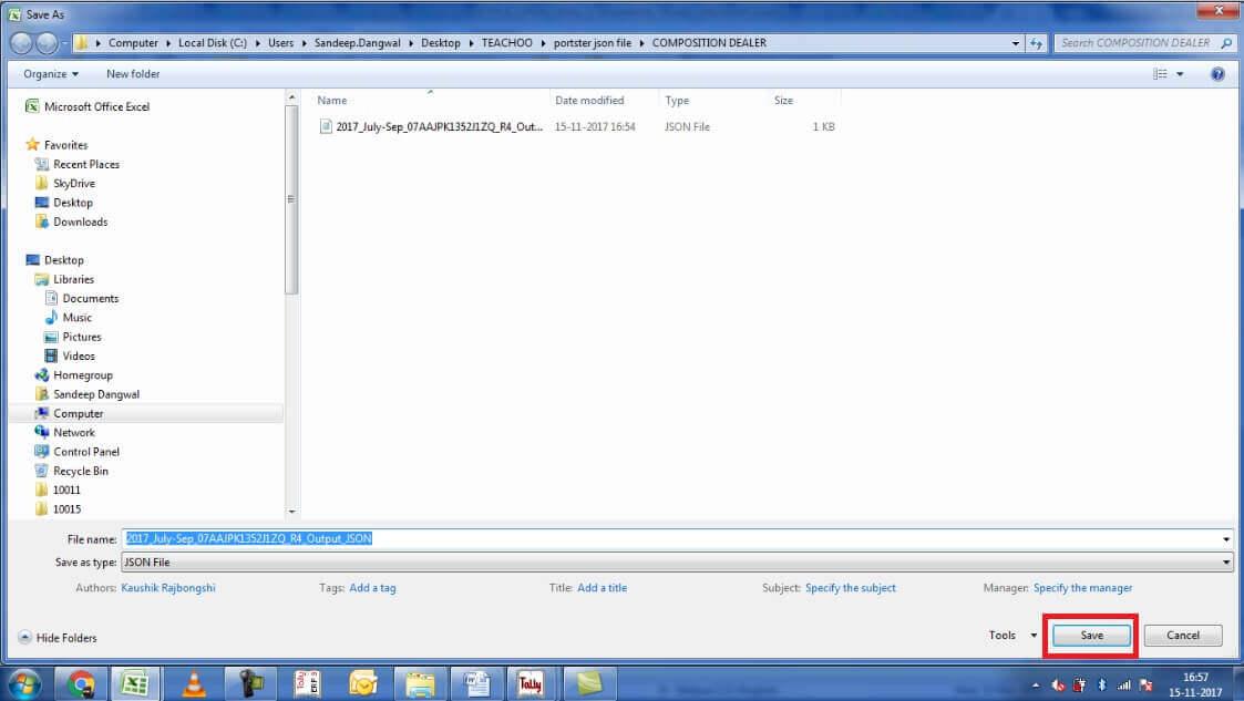 14.Save the jason file.jpg