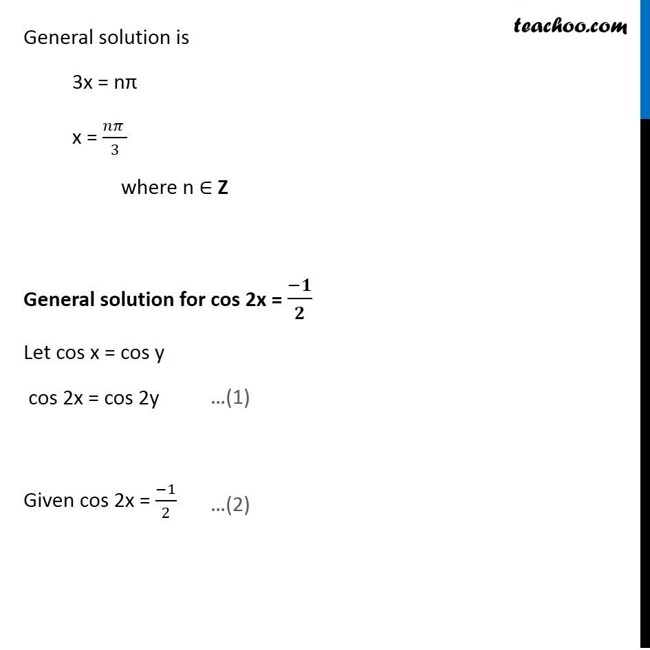 Ex 3.4, 9 - Chapter 3 Class 11 Trigonometric Functions - Part 3