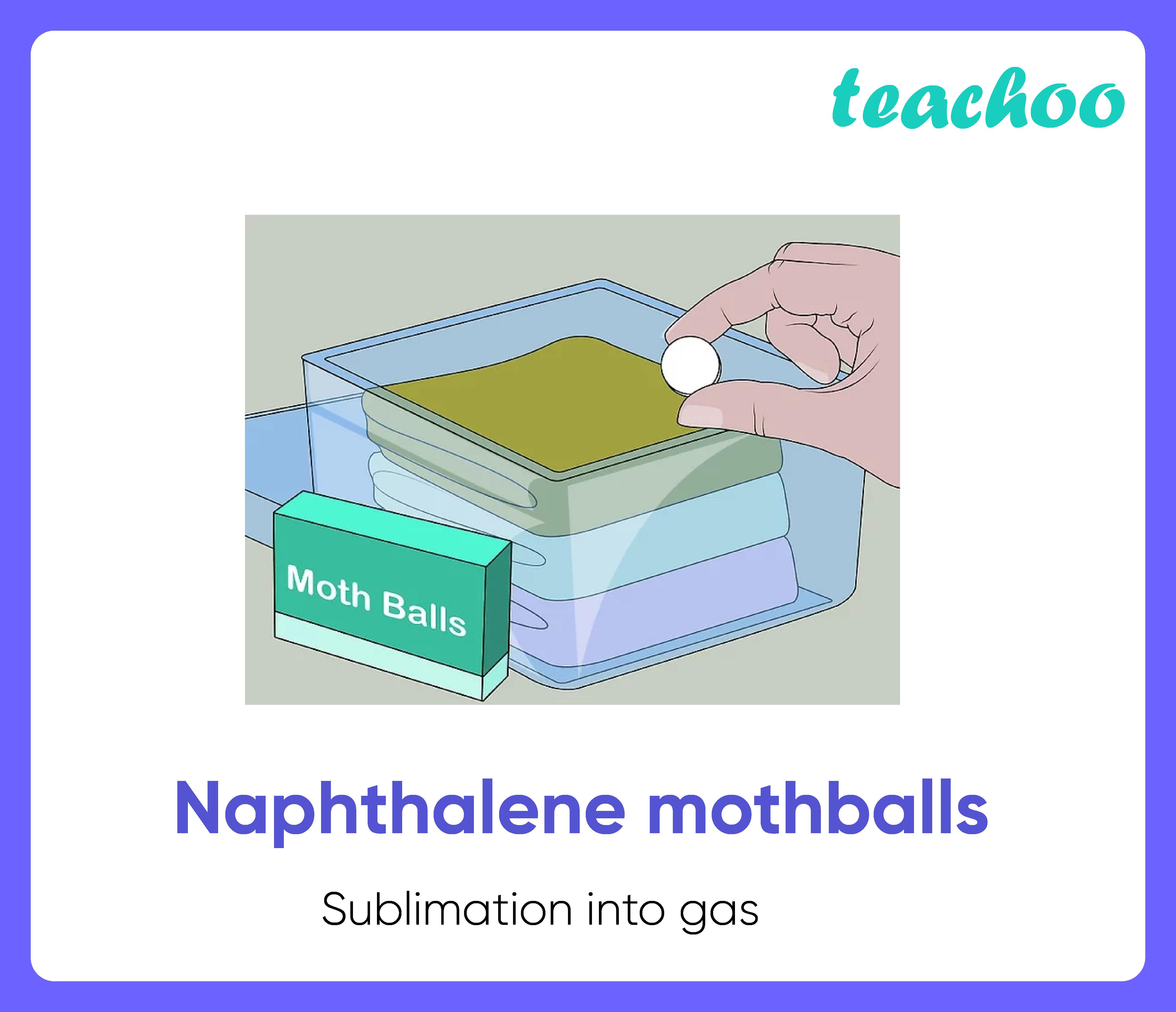 Naphthalene mothballs-Teachoo-01.png