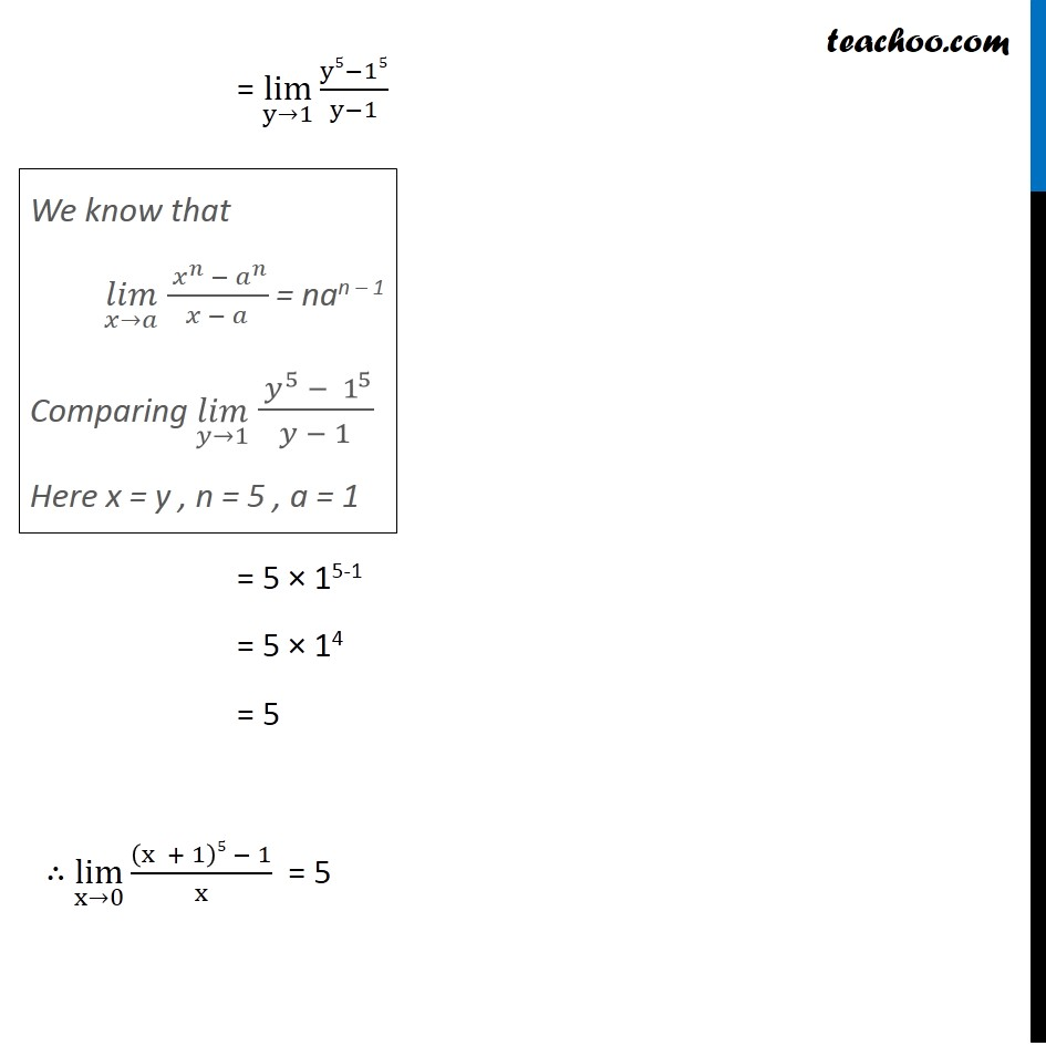 Ex 13.1, 6 - Chapter 13 Class 11 Limits and Derivatives - Part 3