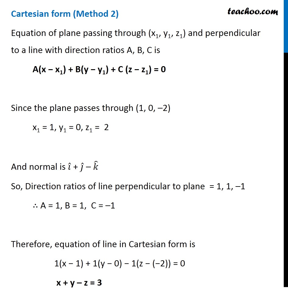Ex 11.3, 5 - Chapter 11 Class 12 Three Dimensional Geometry - Part 5