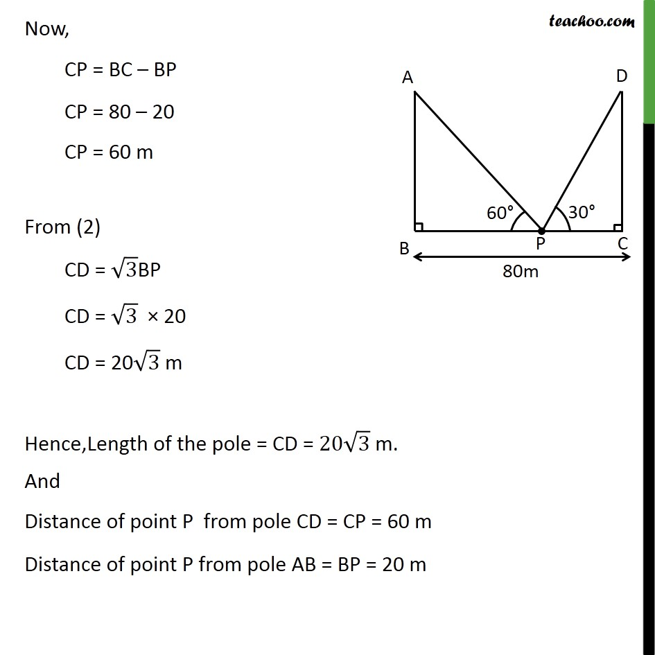 Ex 9.1, 10 - Chapter 9 Class 10 Some Applications of Trigonometry - Part 4