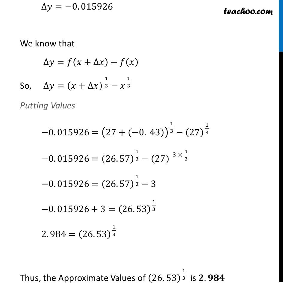 Ex 6.4, 1 (xii) - Chapter 6 Class 12 Application of Derivatives - Part 3