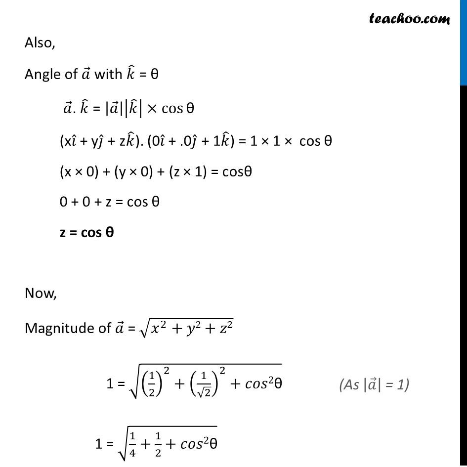 Ex 10.4, 3 - Chapter 10 Class 12 Vector Algebra - Part 2
