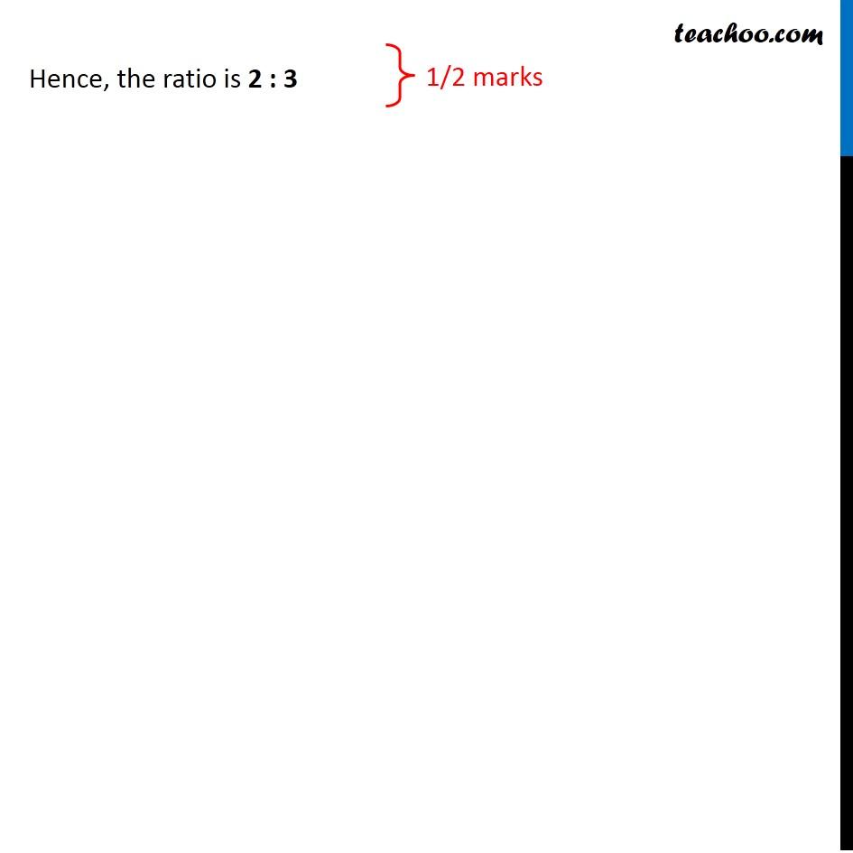 Question 19 - CBSE Class 10 Sample Paper for 2020 Boards - Maths Standard - Part 2
