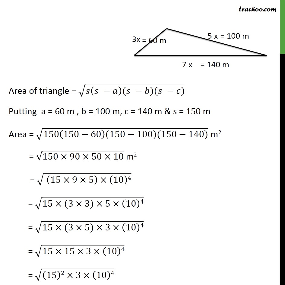 Example 3 - Chapter 12 Class 9 Herons Formula - Part 3
