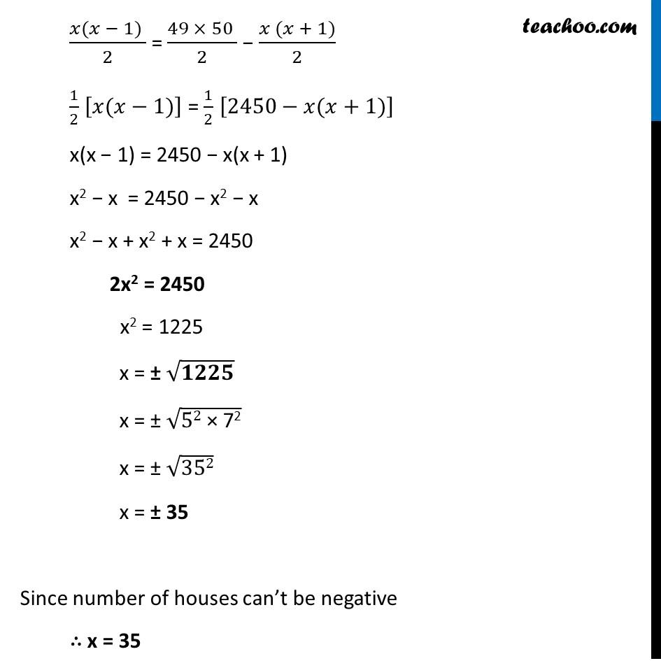 Ex 5.4, 4 (Optional) - Chapter 5 Class 10 Arithmetic Progressions - Part 4
