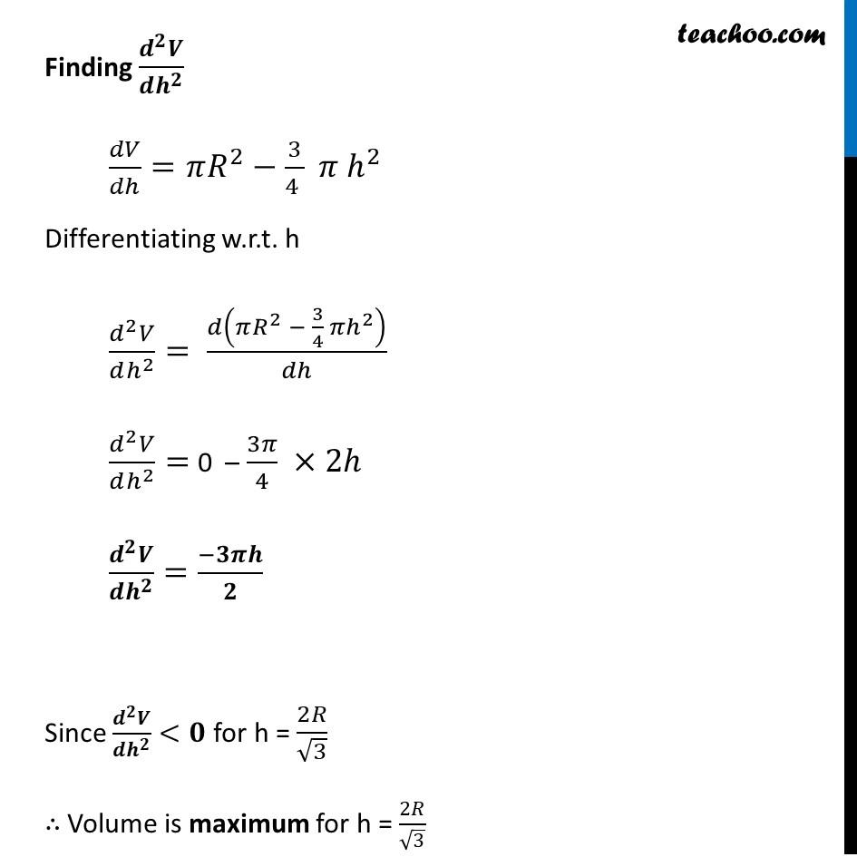 Misc 17 - Chapter 6 Class 12 Application of Derivatives - Part 5