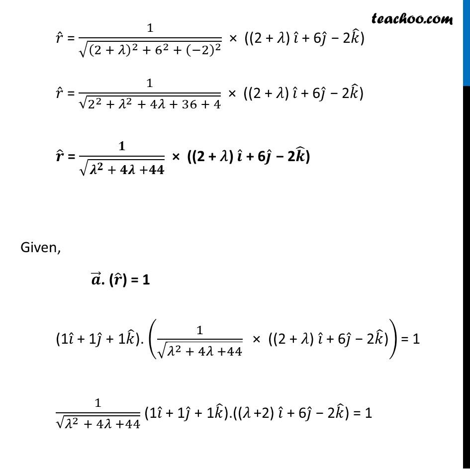 Misc 13 - Chapter 10 Class 12 Vector Algebra - Part 2