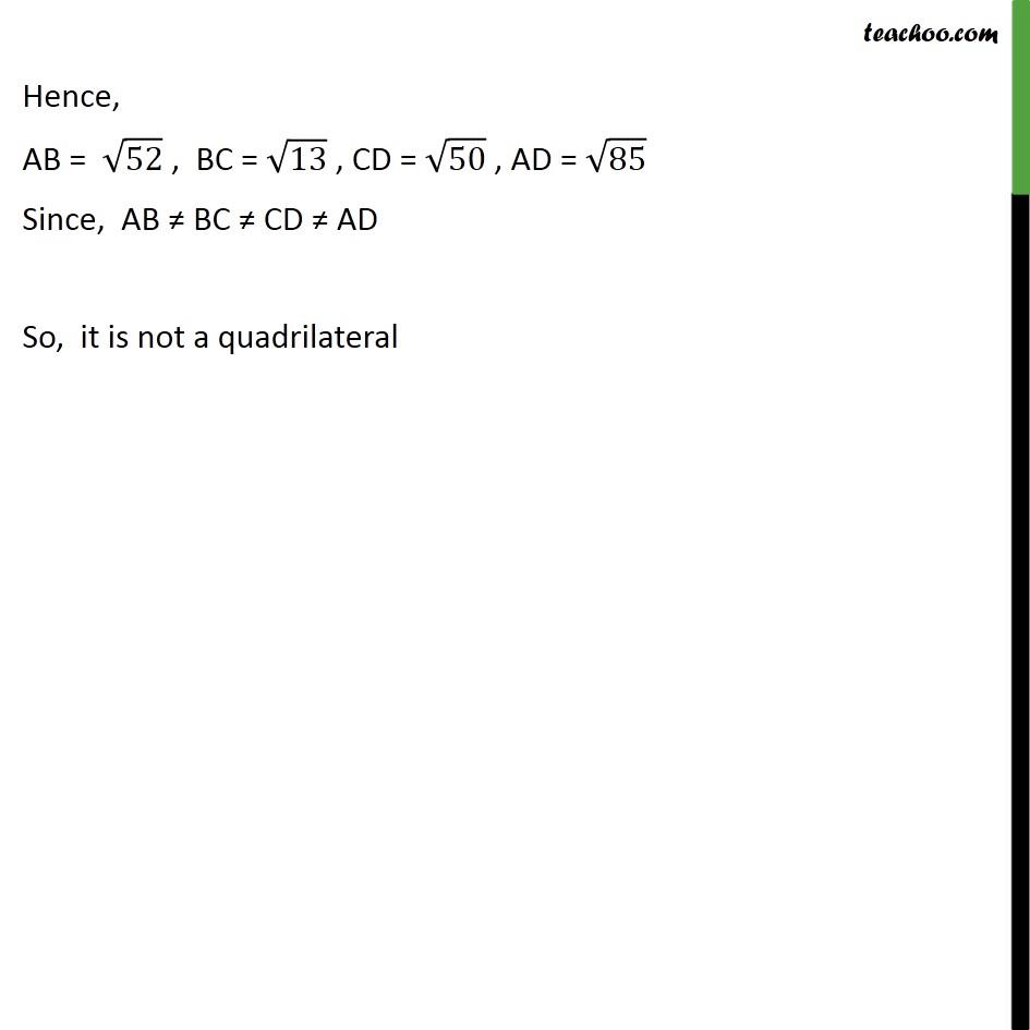 Ex 7.1, 6 - Chapter 7 Class 10 Coordinate Geometry - Part 13