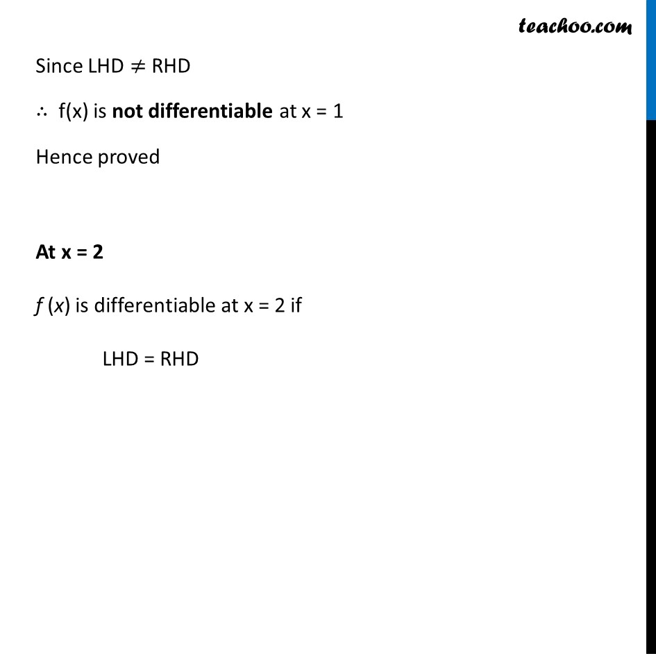 Ex 5.2, 10 - Chapter 5 Class 12 Continuity and Differentiability - Part 4