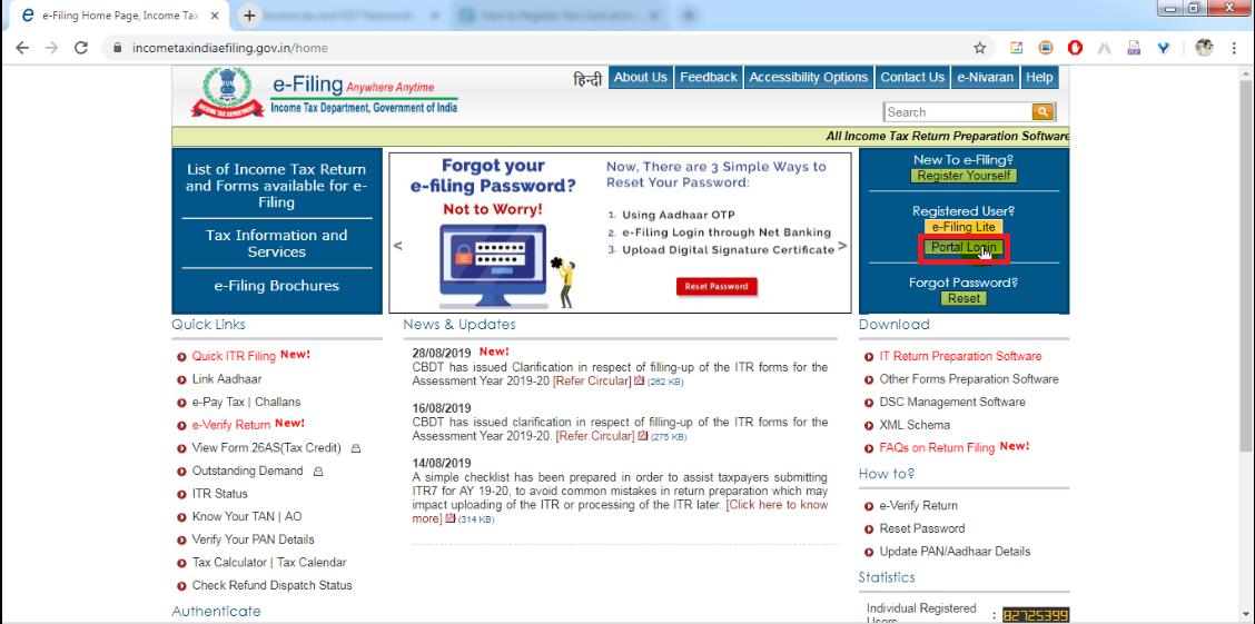 7. Then, cLick  portal login.png