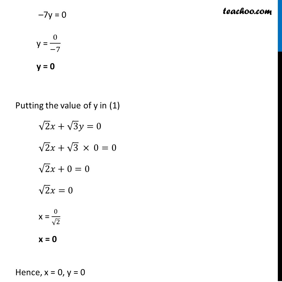 Ex 3.3, 1 - Chapter 3 Class 10 Pair of Linear Equations in Two Variables - Part 16