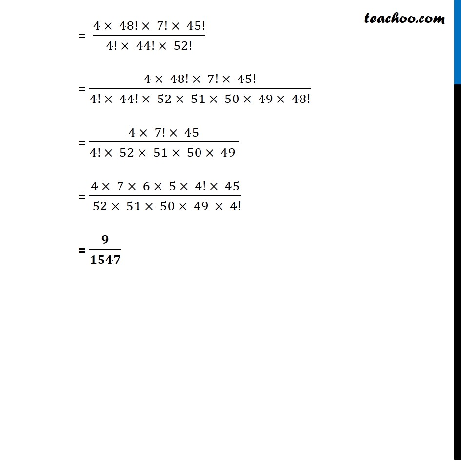 Example  15 - Chapter 16 Class 11 Probability - Part 5