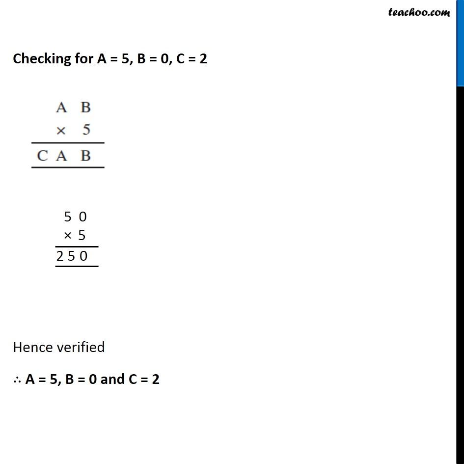 Ex 16.1, 6 - Chapter 16 Class 8 Playing with Numbers - Part 4