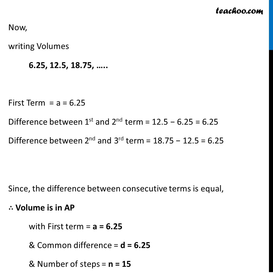 Ex 5.4, 5 (Optional) - Chapter 5 Class 10 Arithmetic Progressions - Part 5