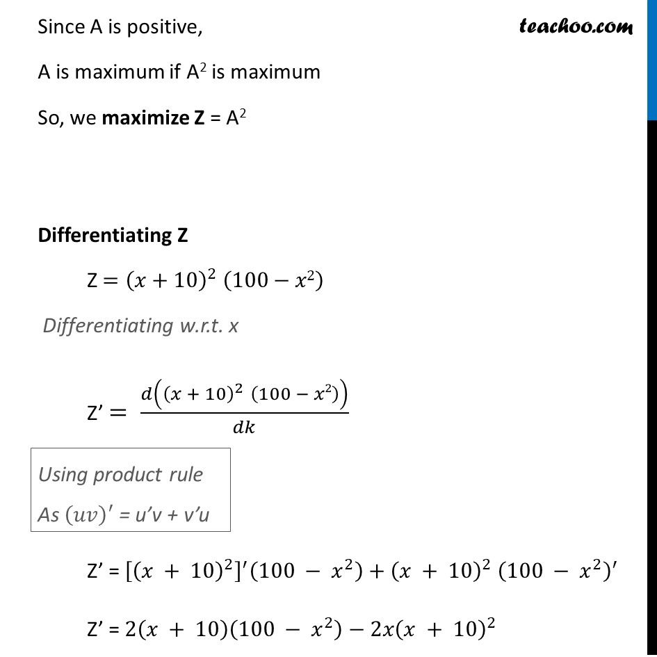 Example 37 - Chapter 6 Class 12 Application of Derivatives - Part 5
