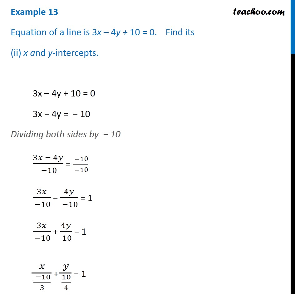 Example 13 - Chapter 10 Class 11 Straight Lines - Part 3
