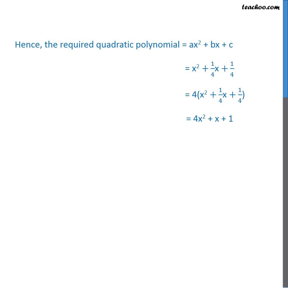 Ex 2.2, 2 - Chapter 2 Class 10 Polynomials - Part 10