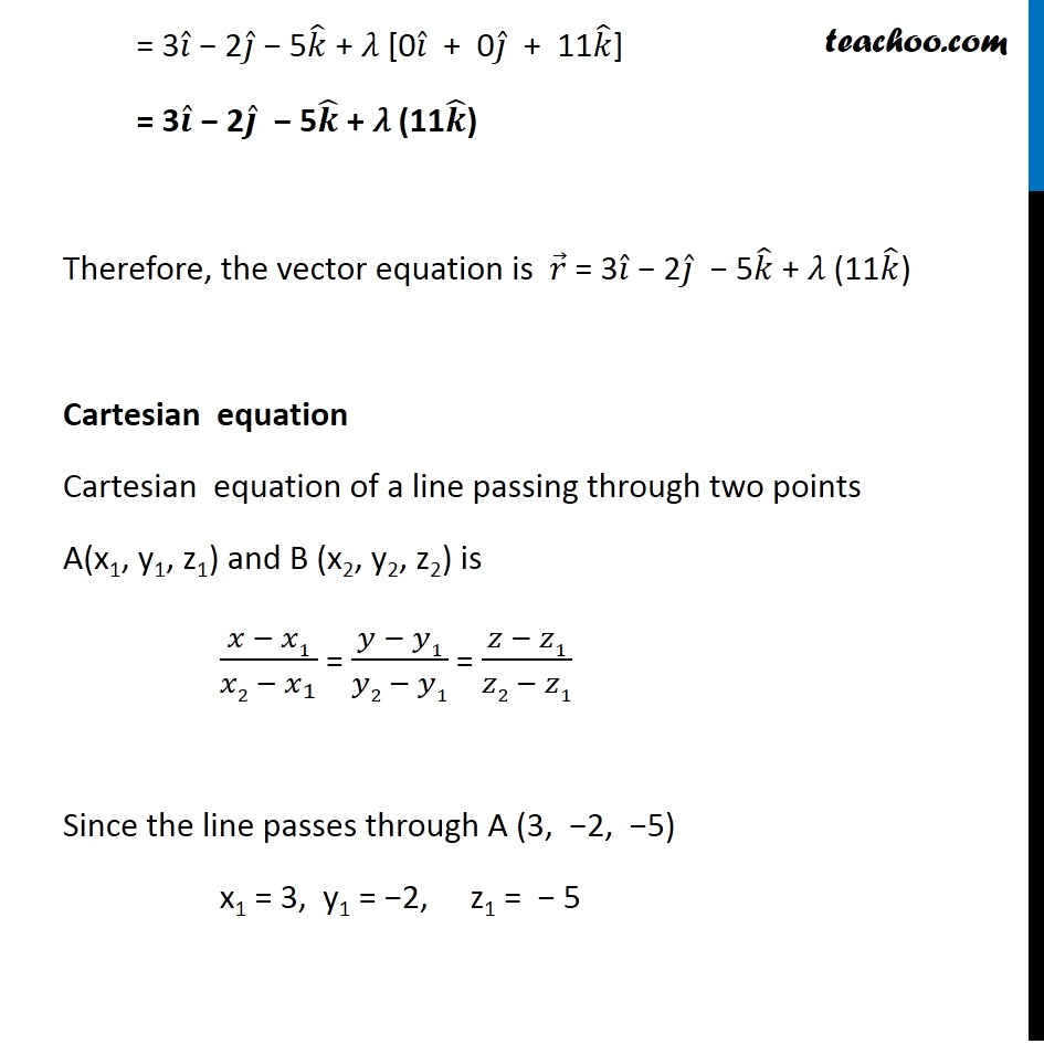 Ex 11.2, 9 - Chapter 11 Class 12 Three Dimensional Geometry - Part 2