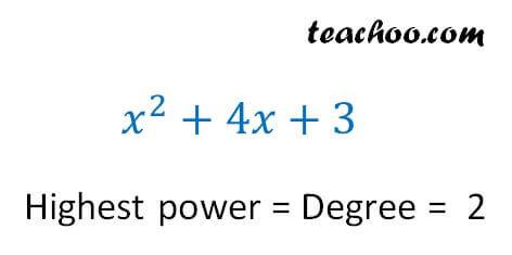 Degree of polynomials - Part 6