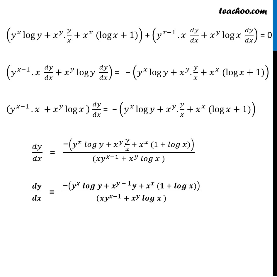 Example 33 - Chapter 5 Class 12 Continuity and Differentiability - Part 9