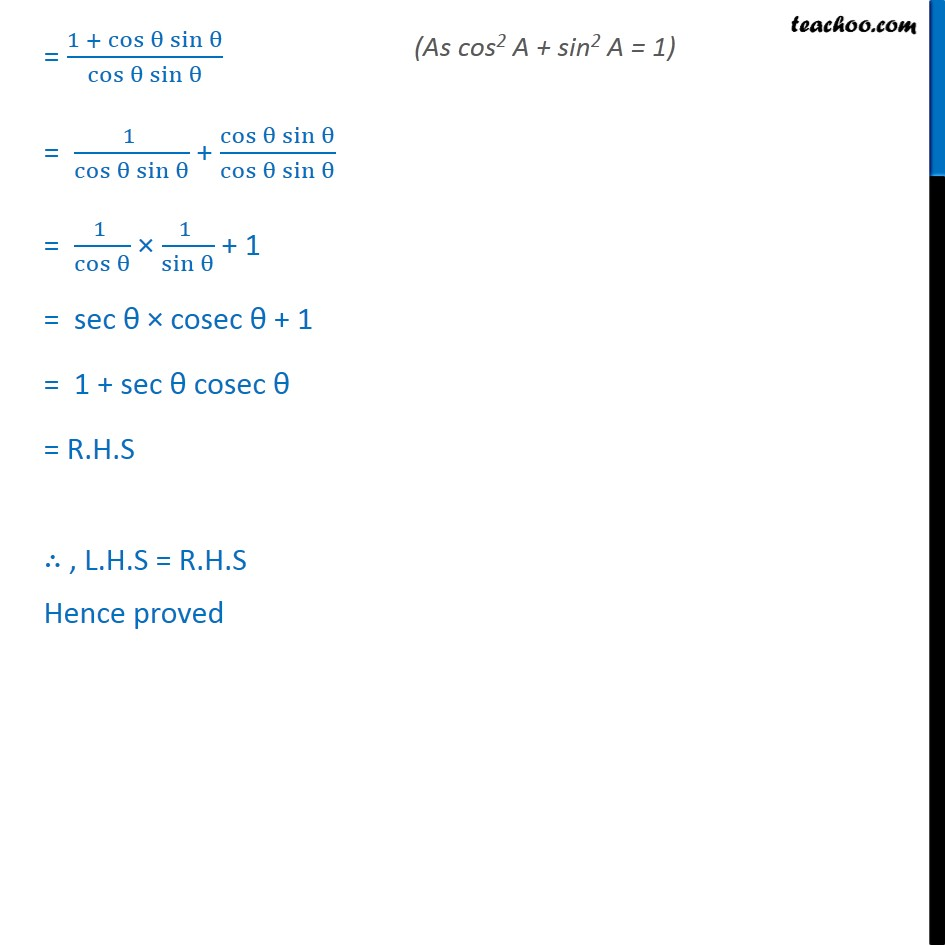 Ex 8.4, 5 (iii) - Chapter 8 Class 10 Introduction to Trignometry - Slide 3