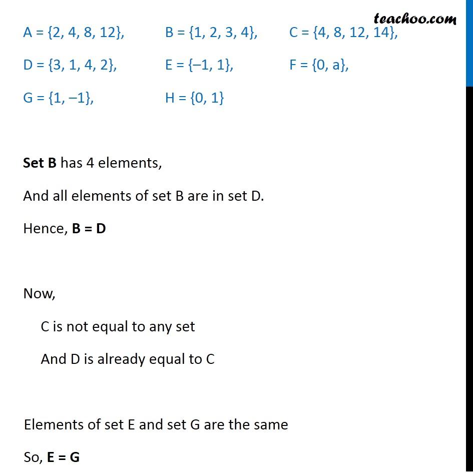 Ex 1.2, 6 - Chapter 1 Class 11 Sets - Part 2
