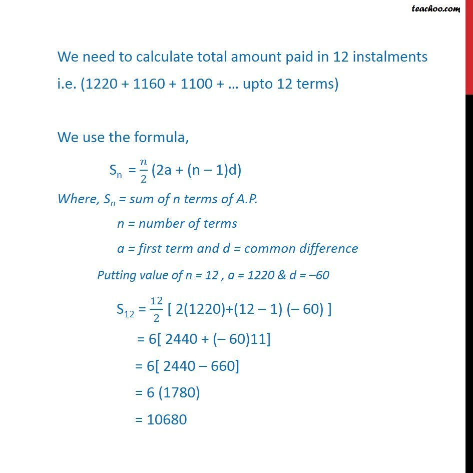 Misc 27 - Chapter 9 Class 11 Sequences and Series - Part 3