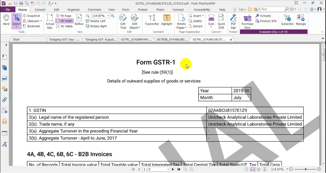 8. GSTR 1 Downloaded.jpg
