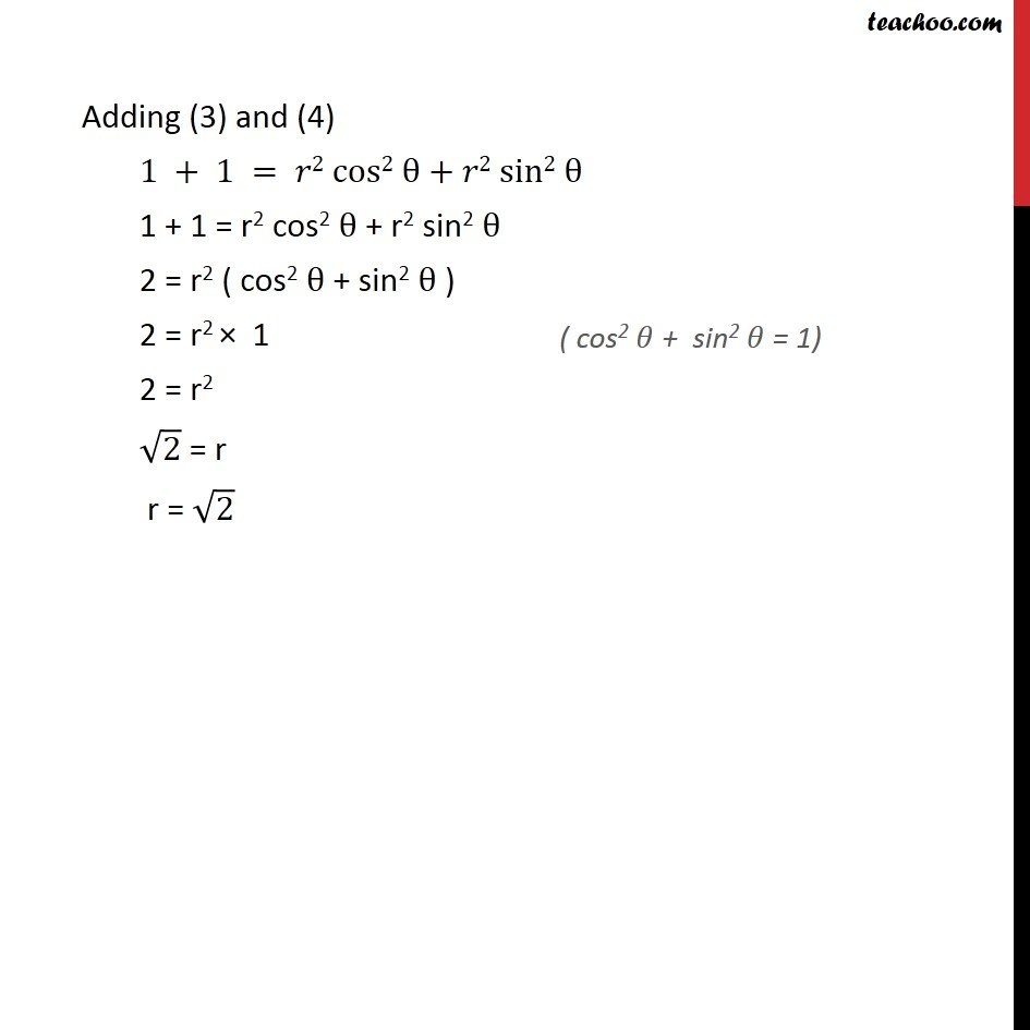 Misc 5 - Chapter 5 Class 11 Complex Numbers - Part 12
