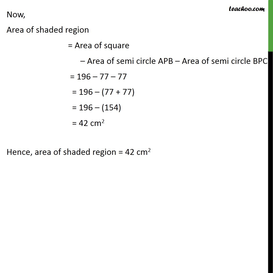 Ex 12.3, 3 - Chapter 12 Class 10 Areas related to Circles - Part 3