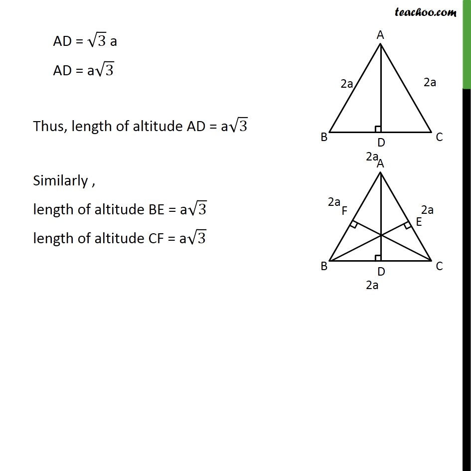 Ex 6.5, 6 - Chapter 6 Class 10 Triangles - Part 3