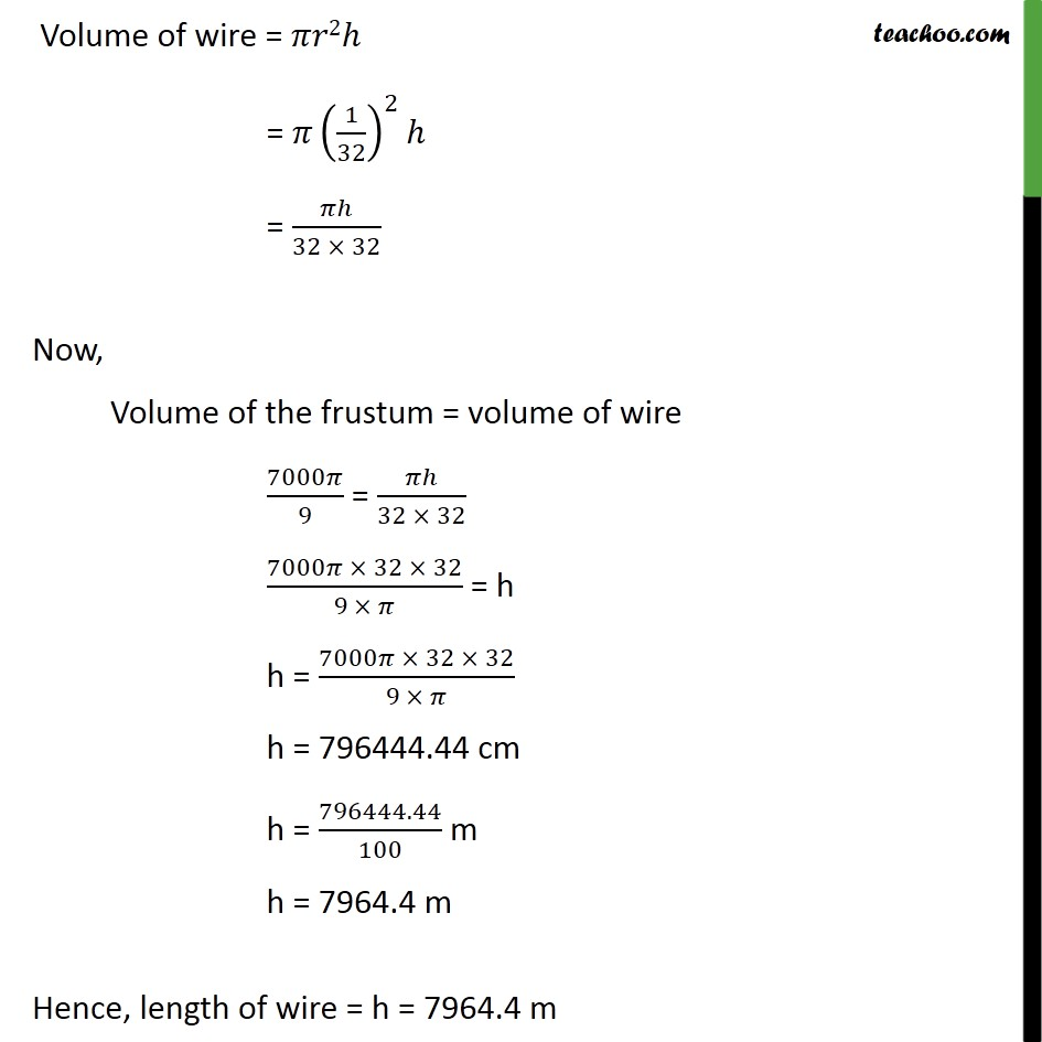 Ex 13.4, 5 - Chapter 13 Class 10 Surface Areas and Volumes - Part 4