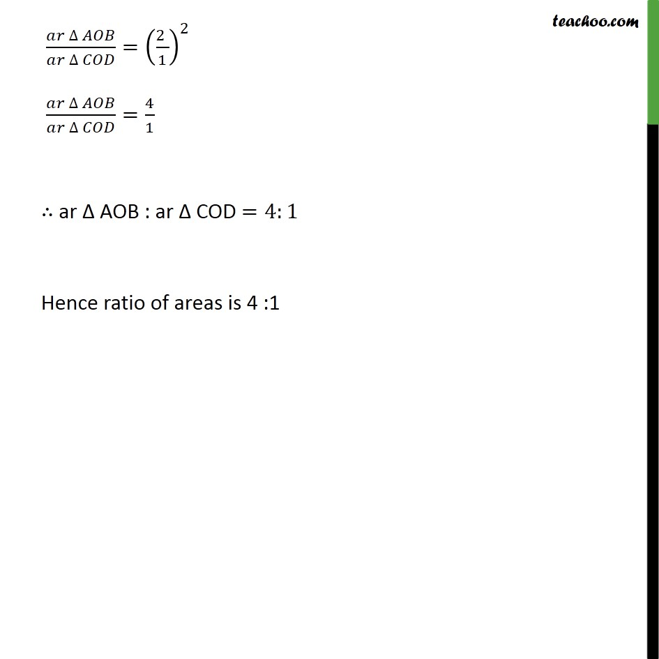 Ex 6.4, 2 - Chapter 6 Class 10 Triangles - Part 3