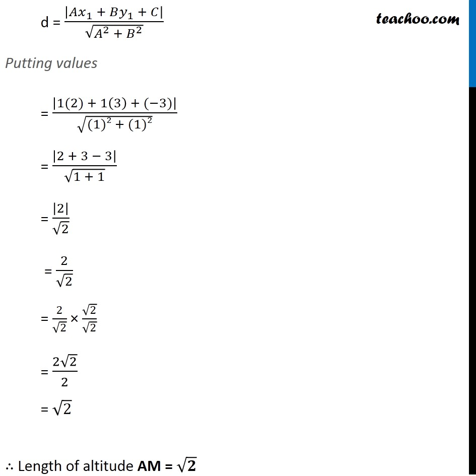 Ex 10.3, 17 - Chapter 10 Class 11 Straight Lines - Part 7