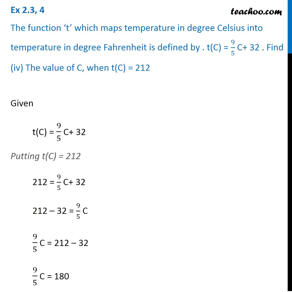Ex 2.3, 4 - Chapter 2 Class 11 Relations and Functions - Part 4