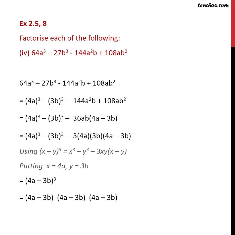 Ex 2.5,8 - Chapter 2 Class 9 Polynomials - Part 4