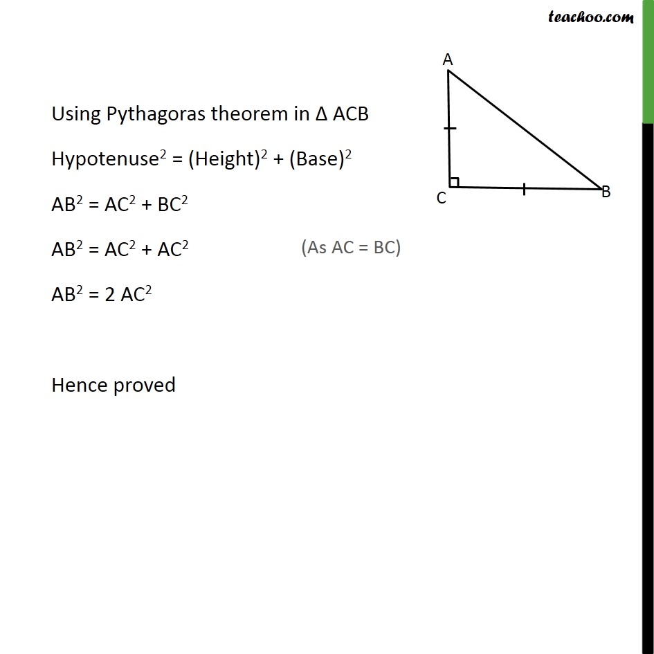 Ex 6.5, 4 - Chapter 6 Class 10 Triangles - Part 2
