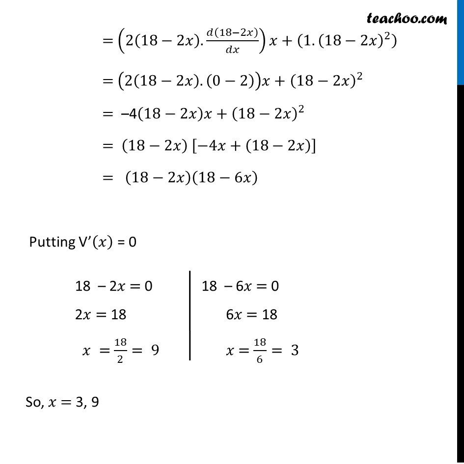 Ex 6.5,17 - Chapter 6 Class 12 Application of Derivatives - Part 3